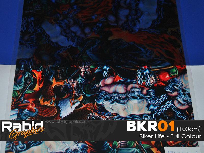 Biker Life - Full Colour (100cm)