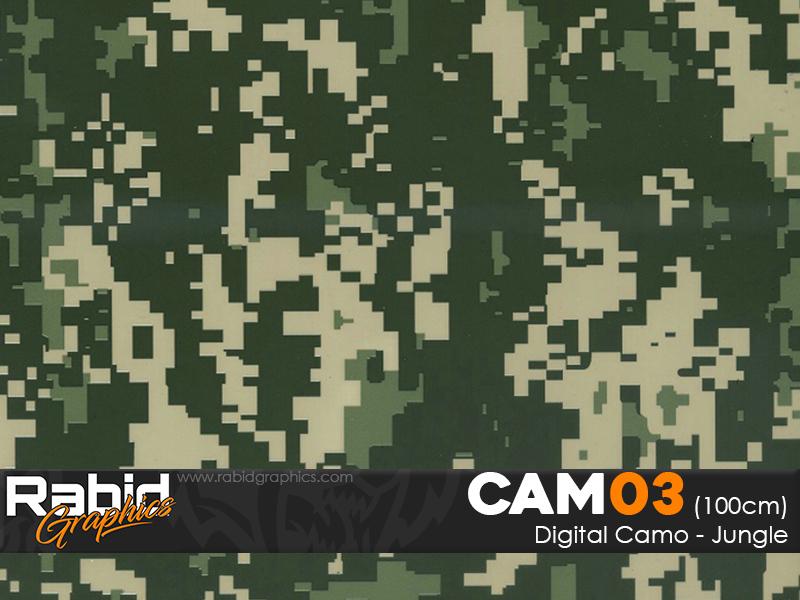 Digital Camo - Jungle (100cm)