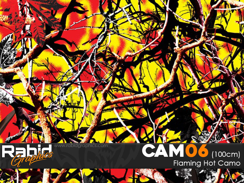 Flaming Hot Camo (100cm)