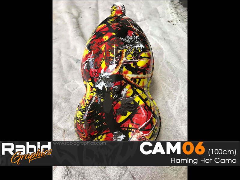 Flaming Hot Camo (100cm)