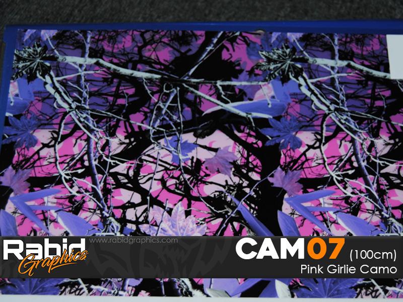 Pink Girlie Camo (100cm)