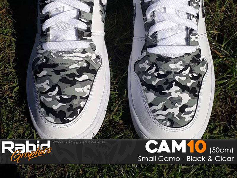 Small Camo - Black & White (50cm)