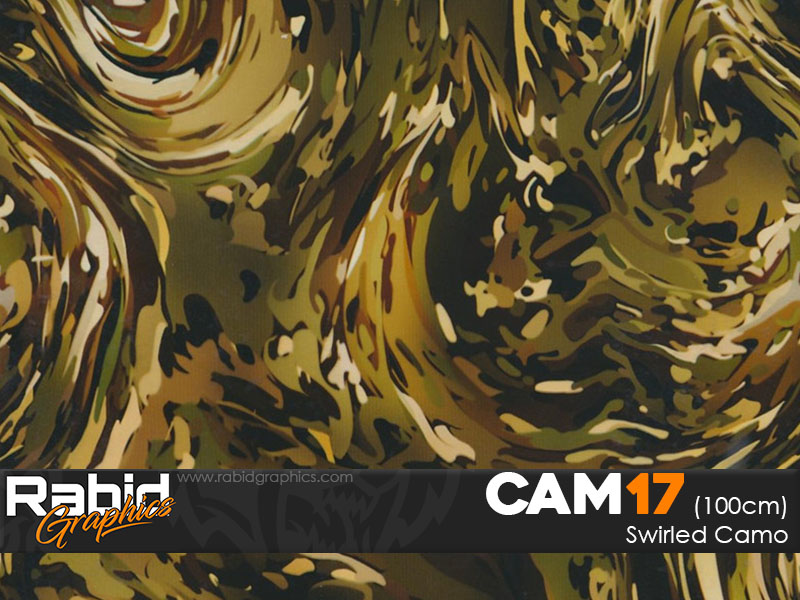 Swirled Camo (100cm)