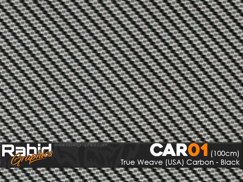 True Weave (USA) Carbon - Black (100cm)