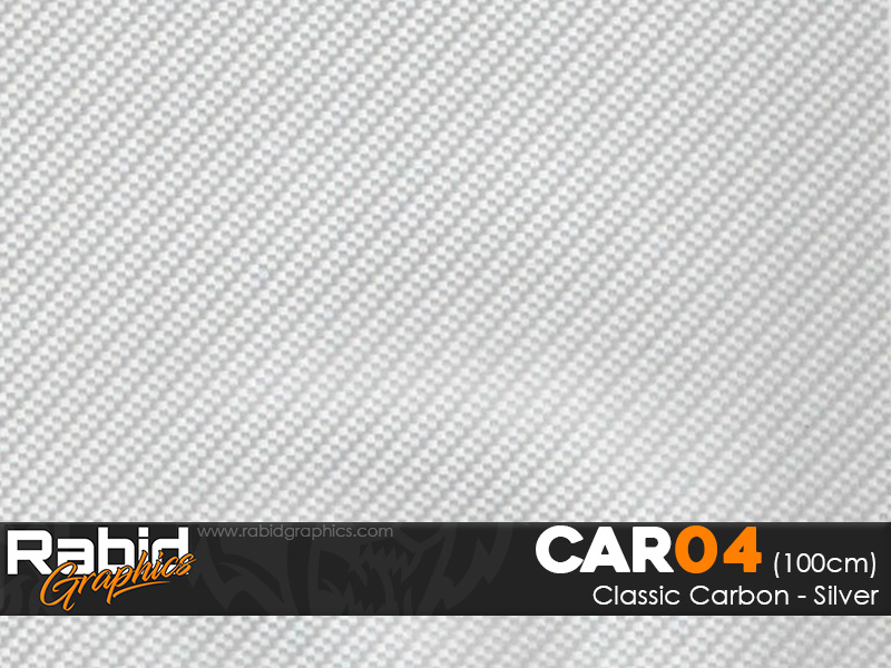 Classic Carbon - Silver (100cm)