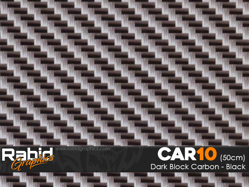 Dark Block Carbon - Black (50cm)