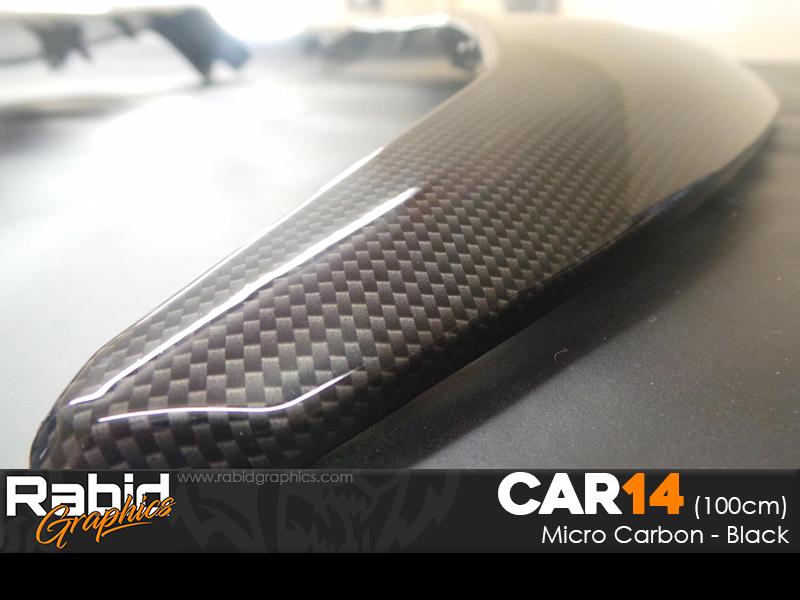 Micro Carbon - Black (100cm)
