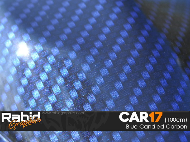 Blue Candied Carbon (100cm)