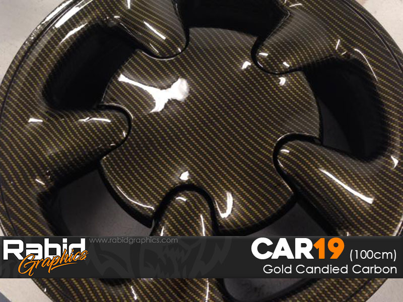 Gold Candied Carbon (100cm)