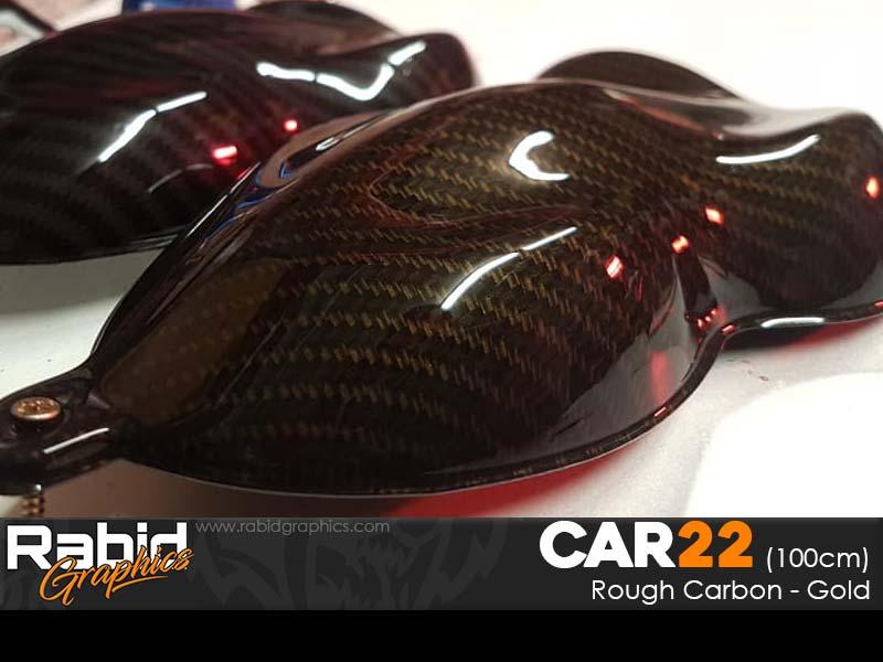 Rough Carbon - Gold (100cm)