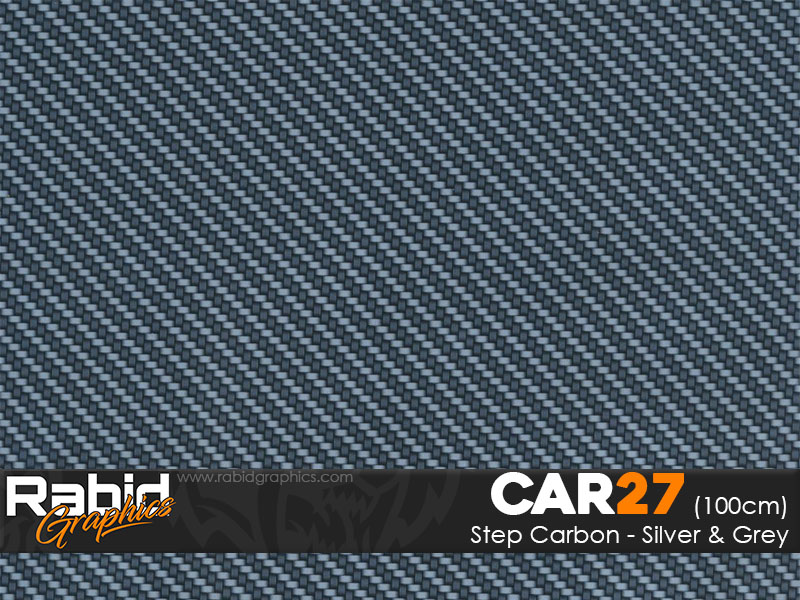 Step Carbon - Silver & Grey (100cm)