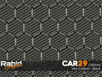 Hex Carbon - Black (100cm)
