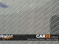 True Weave Carbon - Black (100cm)