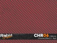 Chrome Effect II - Red (100cm)