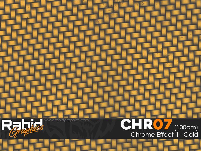 Chrome Effect II - Gold (100cm)
