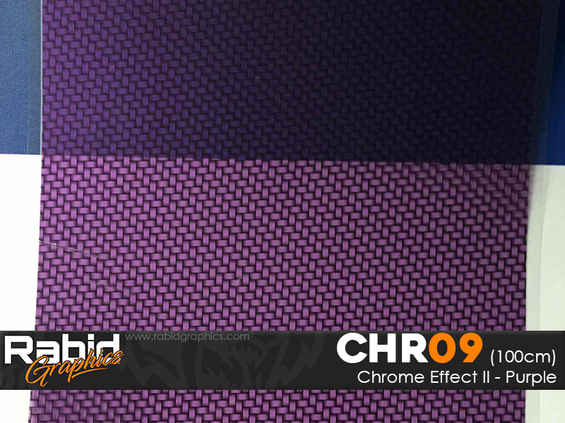 Chrome Effect II - Purple (100cm)
