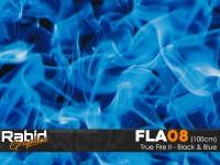 True Fire II - Black & Blue (100cm)