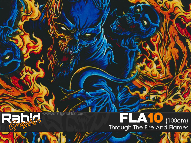 Through The Fire And Flames (100cm)