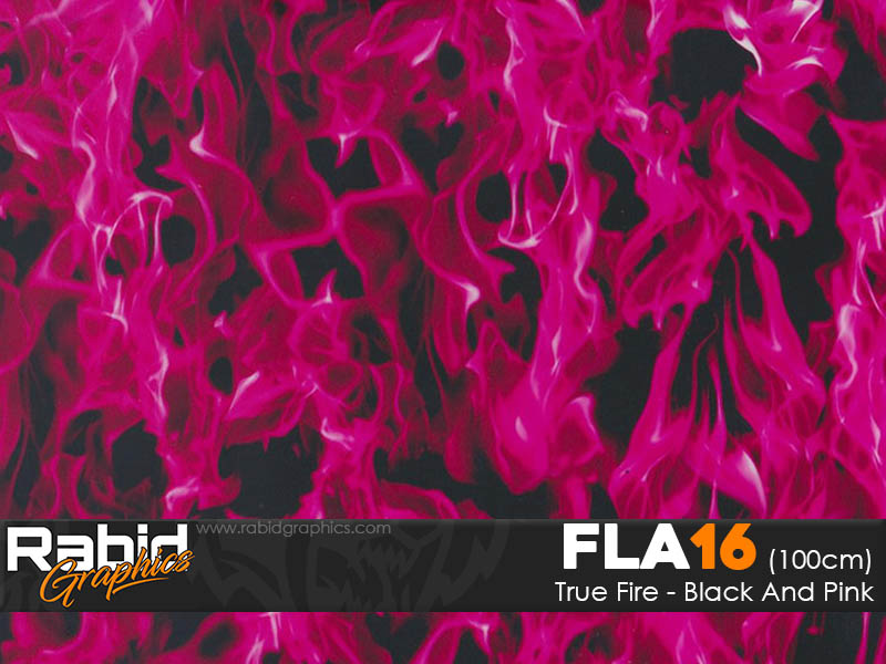 True Fire - Black & Pink (100cm)