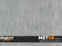 Dark Brushed Aluminium (90cm)