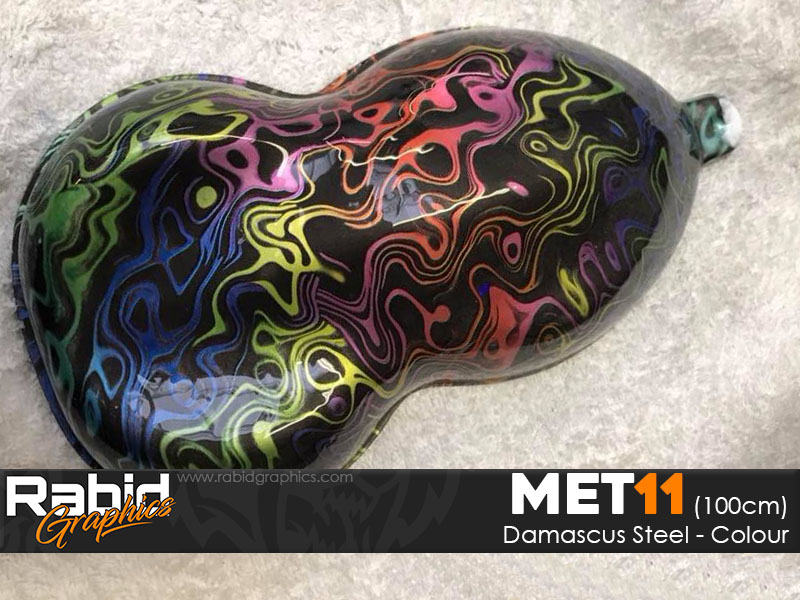 Damascus Steel - Colour (100cm)