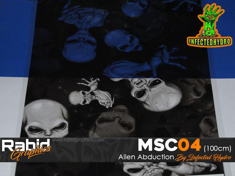 Alien Abduction (100cm)