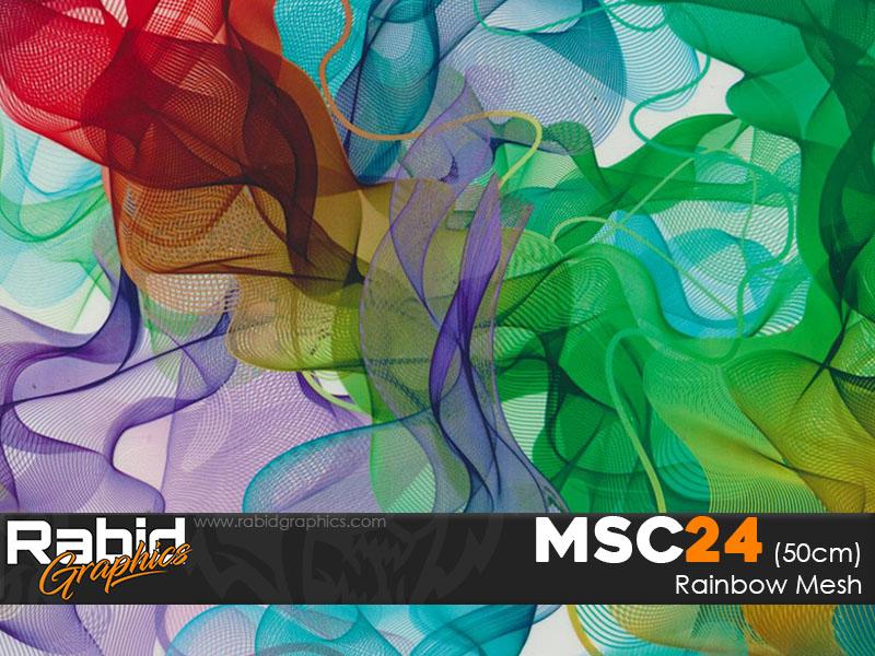 Rainbow Mesh (50cm)