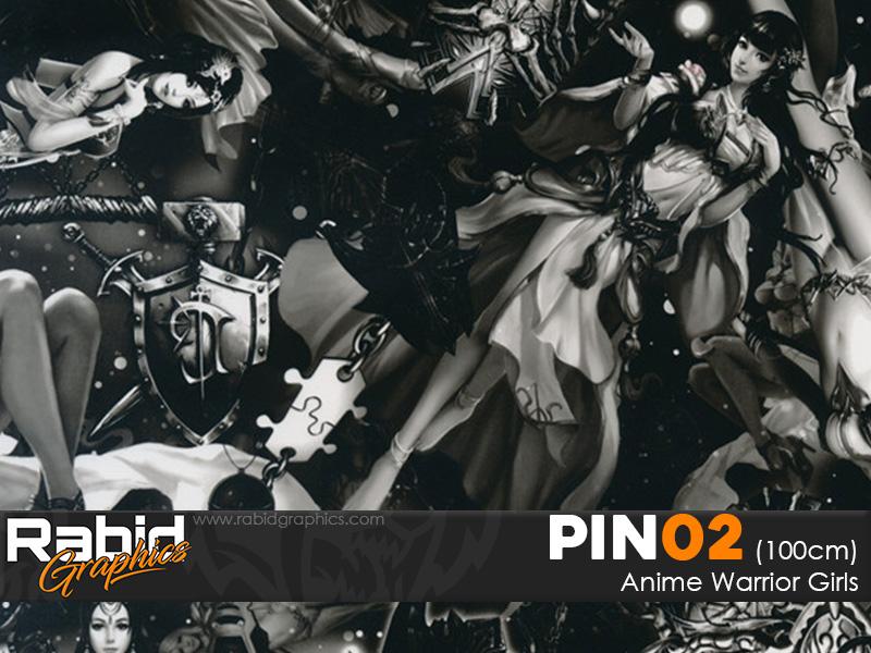 Anime Warrior Girls (100cm)