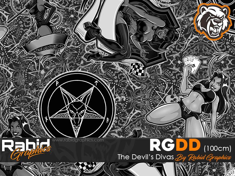 The Devil's Divas (100cm)