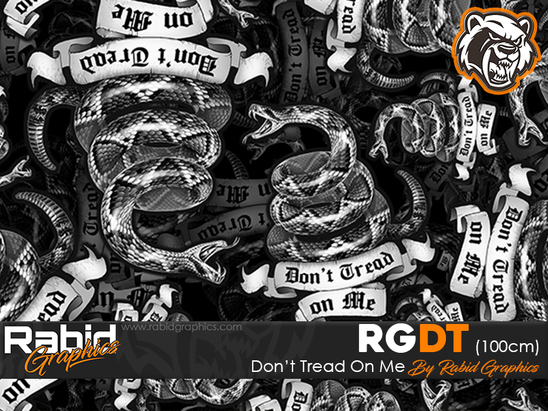 Don't Tread On Me (100cm)