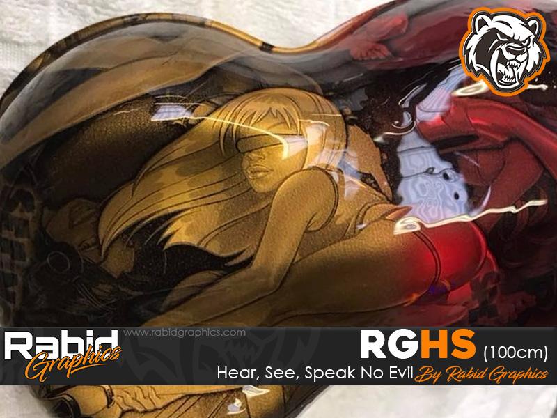 See, Hear, Speak No Evil (100cm)
