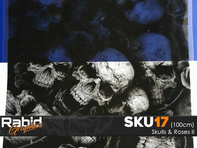 Skulls & Roses II (100cm)