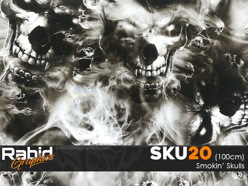 Smokin' Skulls (100cm)