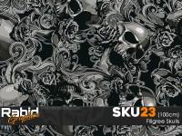 Filigree Skulls (100cm)