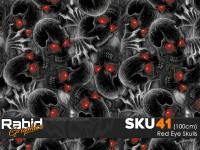 Red Eye Skulls (100cm)