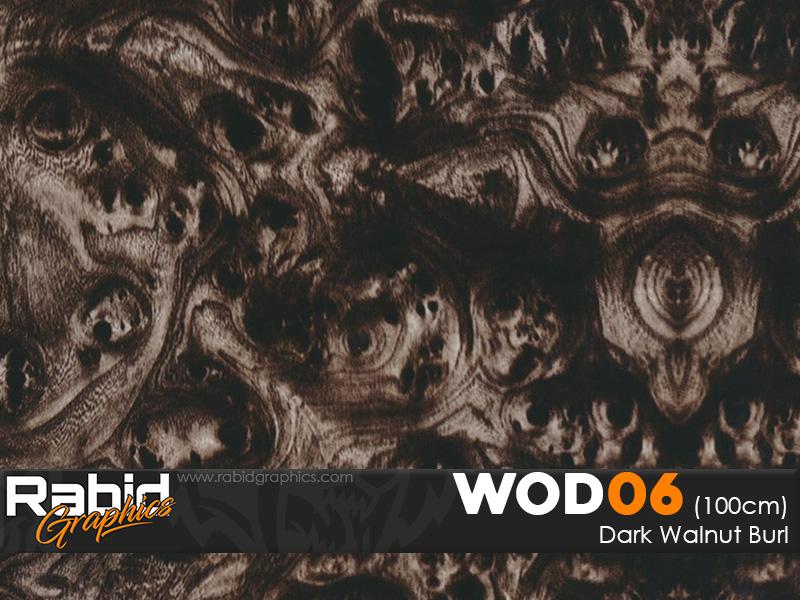 Dark Walnut Burl (100cm)